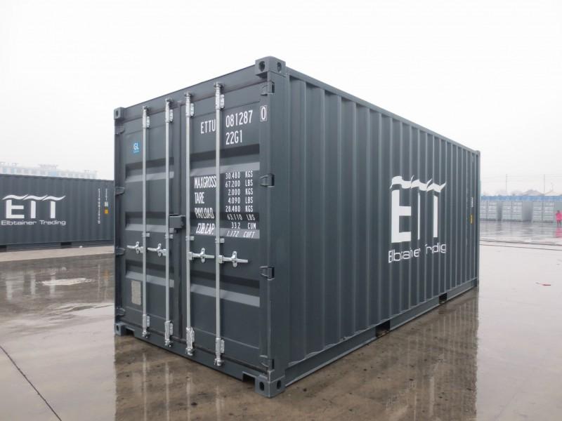 Качественный морской контейнер 20 футов