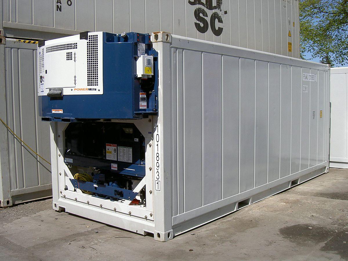Новый рефрижераторный контейнер