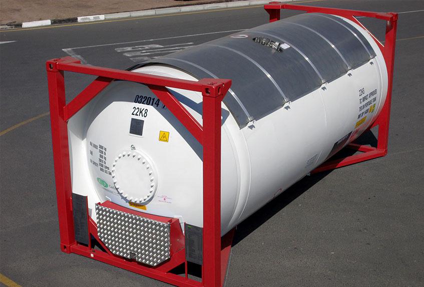 танк контейнер для наливных пищевых продуктов