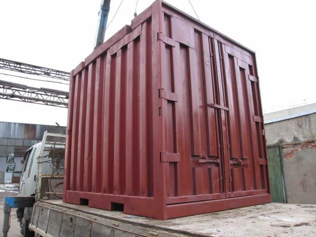 Новый железнодорожный контейнер